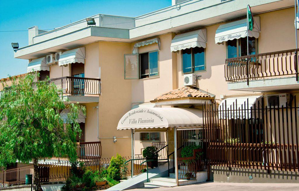 Casa di riposo Villa Flaminia Sant'Agata Li Battiati