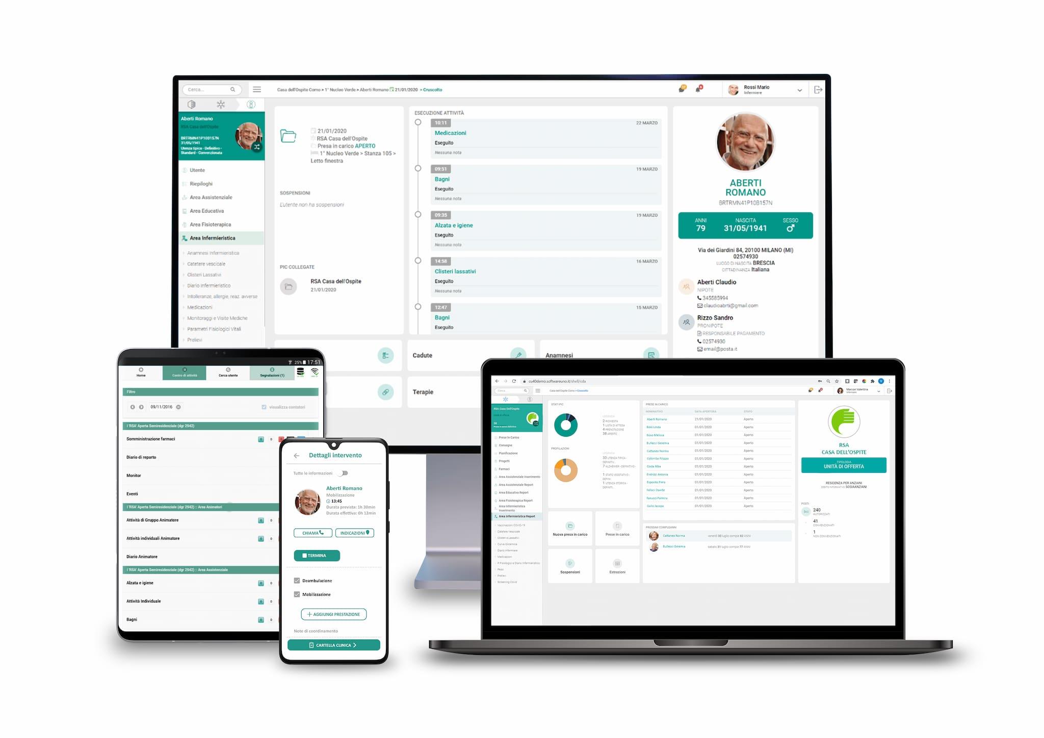 nuova partnership tra peranziani e softwareuno per nuove soluzione digitali per il mondo socio sanitario